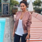 45 Hottest Ways To Wear Bomber Jacket For Women Ideas