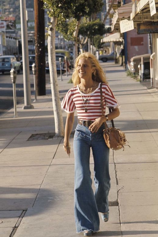 45 Incredible Street Style Shots From The '70s #womensstyle