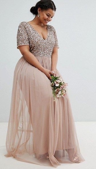 45 Plus Size Wedding Guest Dresses {with Sleeves