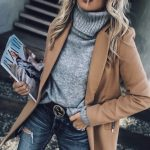 46 Elegant Street Style Winter Coats Trends Ideas