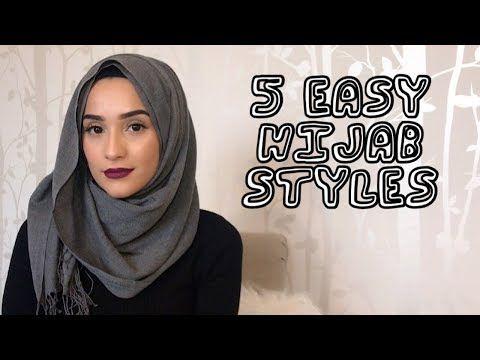 5 EASY HIJAB STYLES TUTORIAL | _MILASMAMA