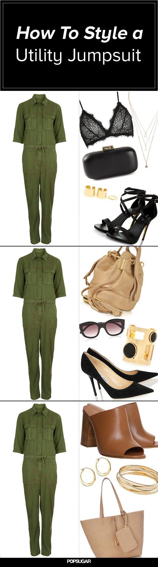 5 Stylish Ways to Wear a Utility Jumpsuit