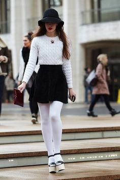 5 Ways to Wear Tights this Winter – Glam Radar