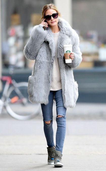 50 Chic Fall/Winter Fur Coats Ideas