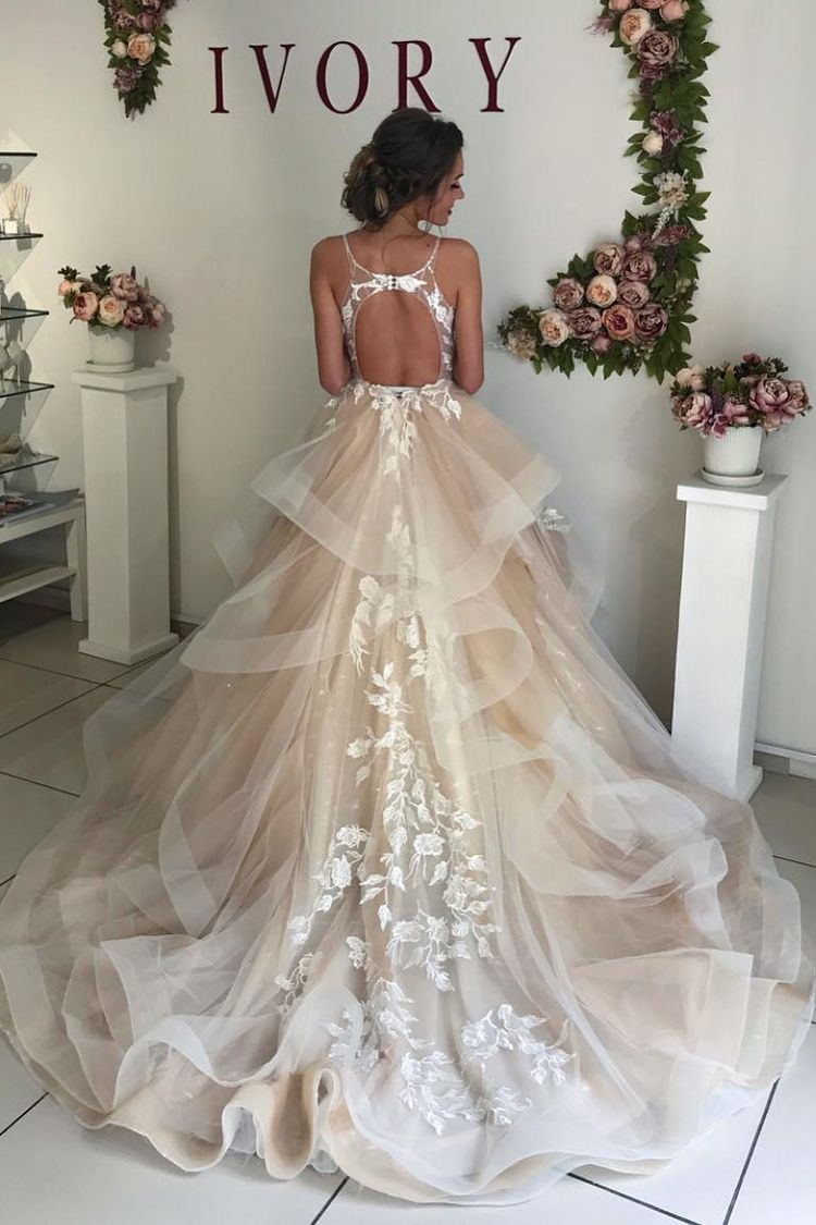50+ Gorgeous Wedding Dress Ideas to Say Yes to | My Sweet Engagement