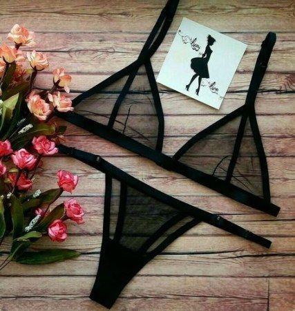 50 Ideas Swimwear Black Bikini Fashion