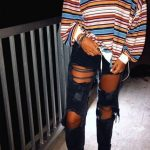 50 Most Popular Outfits Ideas WIth Ripped Jeans For Summer