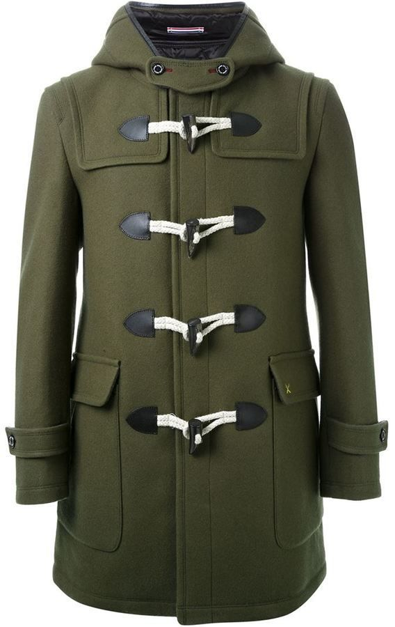 $515, GUILD PRIME Hooded Duffle Coat. Sold by farfetch.com. Click for more info:…