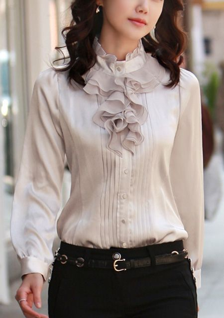 59 Ruffle Blouses You Will Definitely Want To Save