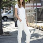 6 Le Fashion Blog 17 Ways To Wear White Overalls Model Alana Zimmer Street Style...