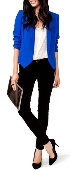 6 stylish ways to combine black and blue – Page 4 of 6