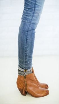 65 Trendy Ideas for how to wear ankle boots with jeans and socks fall fashion