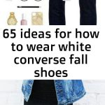 65 ideas for how to wear white converse fall shoes