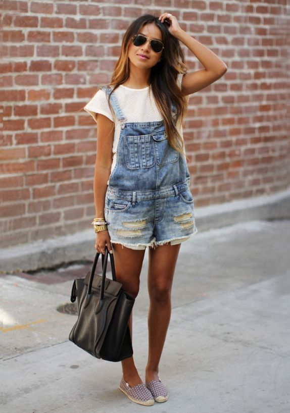 7 Chic Ways to Nail The Overalls Trend