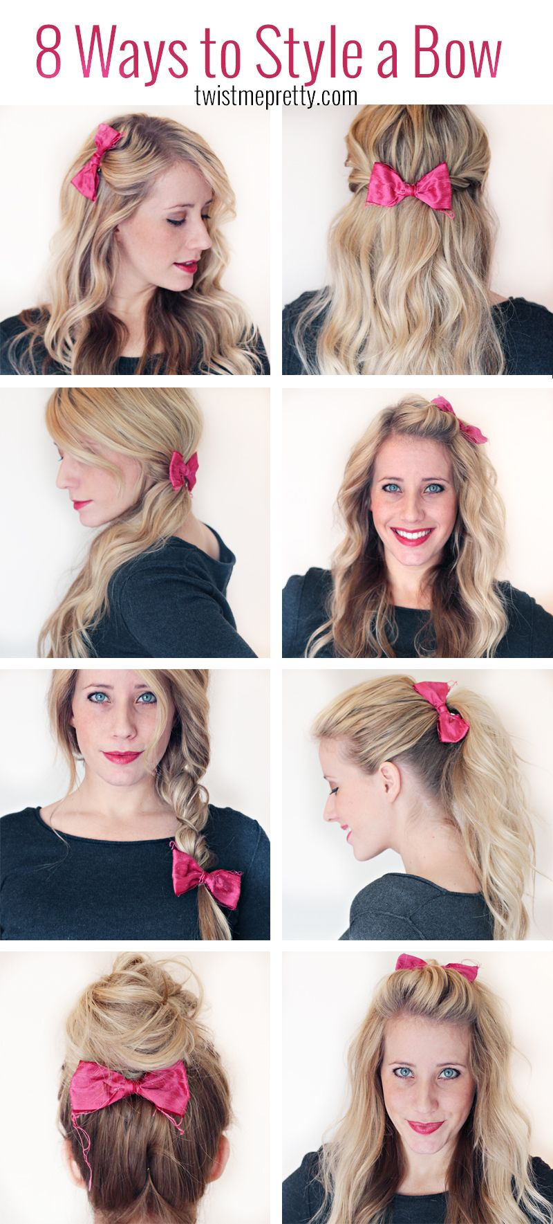 8 Ways to Style a Bow – Twist Me Pretty