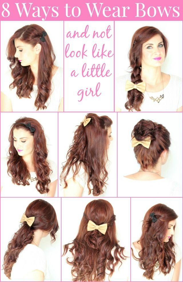 8 Ways to Wear Bows in your Hair – Ma Nouvelle Mode