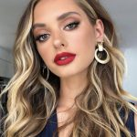 99 Unique Makeup Ideas With Red Lipstick You Must Try