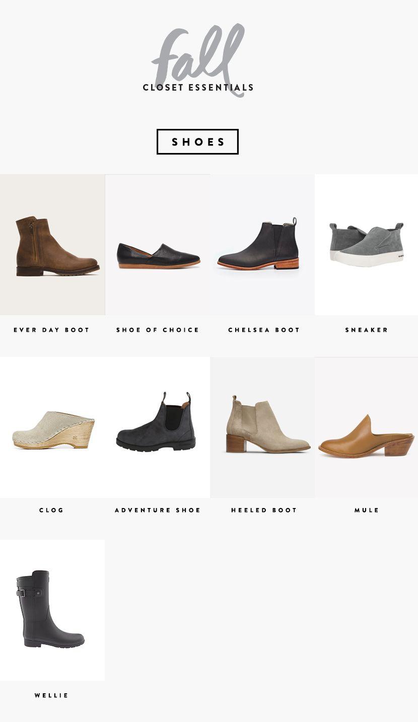 A Seasonal Closet: Fall Wardrobe Essentials