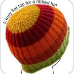A Truly Flat Hat Top Tutorial on TECHknitting at techknitting.blog...