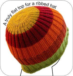 A Truly Flat Hat Top Tutorial on TECHknitting at techknitting.blog…
