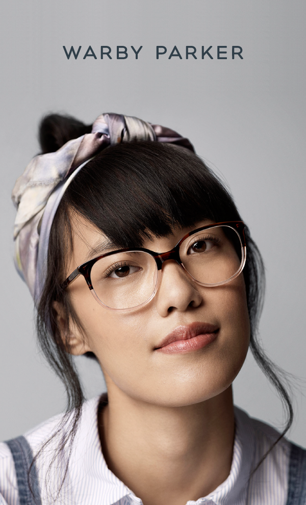 A hint of pink on a pair of frames is always the right call. Shop Warby Parker's…