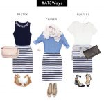 #AT3Ways: Stripe Perfect Shirt (From the Desk of Ann)