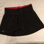 Adidas Black & Red Tennis Skirt Brand New with Tags. Adidas workout/Tennis Skirt...