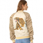 Alpha Industries Tiger Souvenir Flight Jacket EUC Limited Edition Tiger Souvenir...