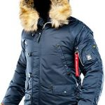 Amazing offer on AIRBOSS Men's Parka N-3B Winter Parka/Thinsulate, Warm Winter Coat Cold Weather, Thinsulate Filling online