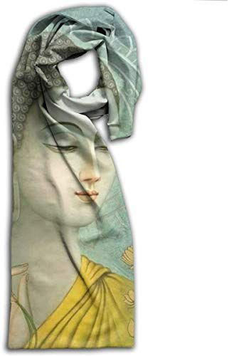 Amazing offer on Galaxy Voyage Buddha Figure Womens Large Soft Shawls Wrap Fashion Bandana Scarfs For Women/Men online