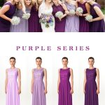Amazing trendy purple bridesmaid dresses from FHFH! Huge spring sale is going on...