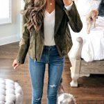 Ankle Boots High Heel Outfits With Blue Jeans For Women