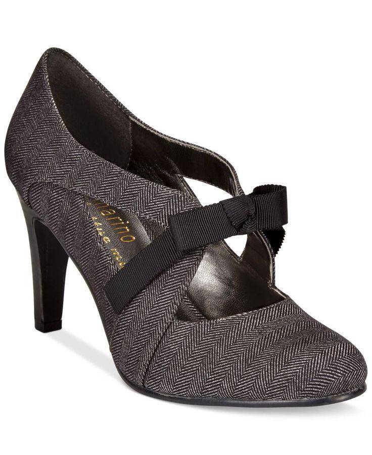 Ann Marino by Bettye Muller Telma Bow Pumps – Pumps – Shoes – Macy's