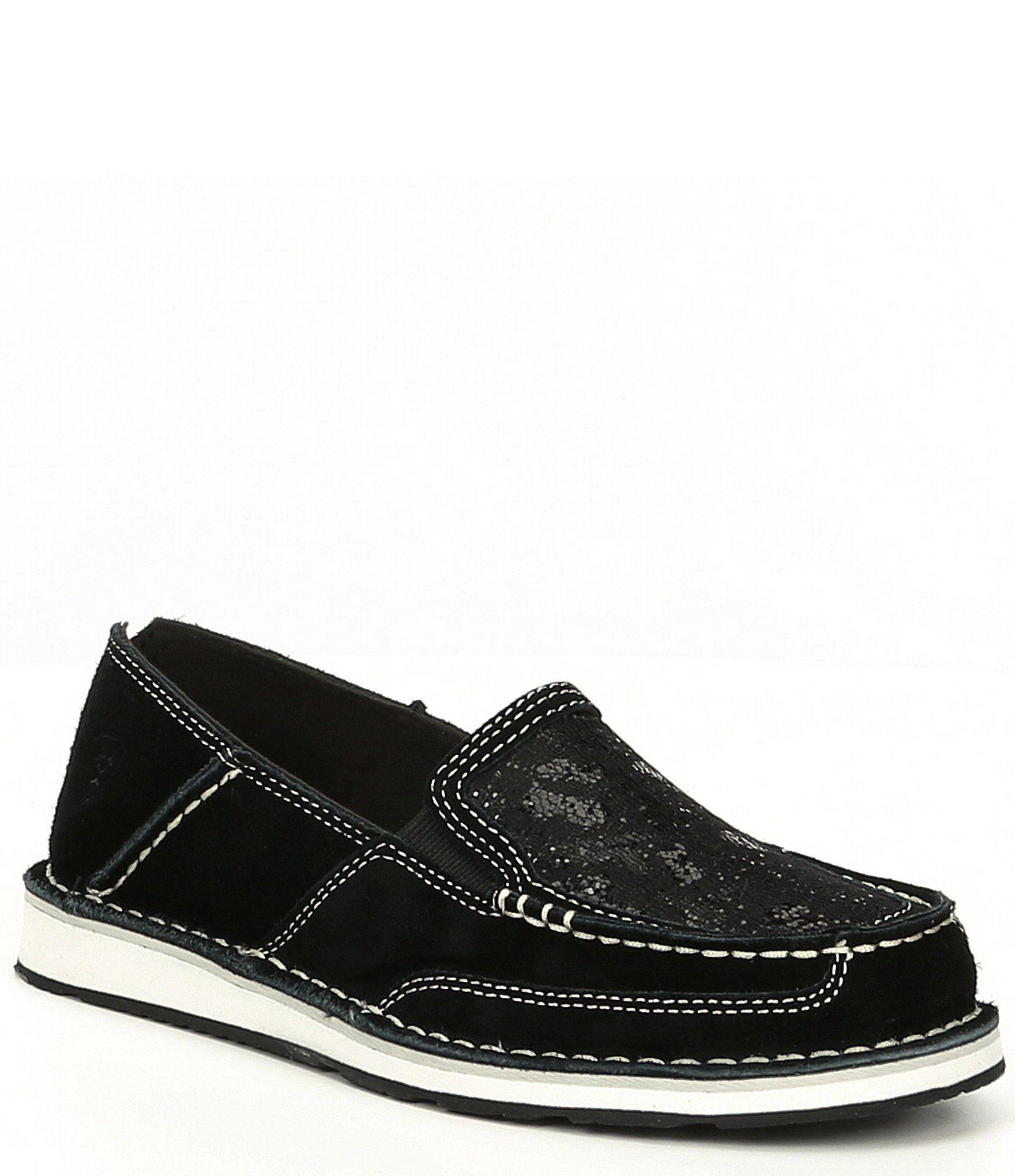 Ariat Cruiser Sequin Slip On Shoes – Black 6.5M