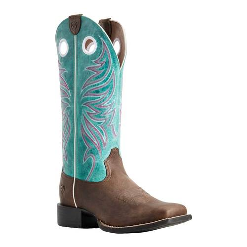 Ariat Round Up Ryder Cowgirl Wide Square Toe Boot