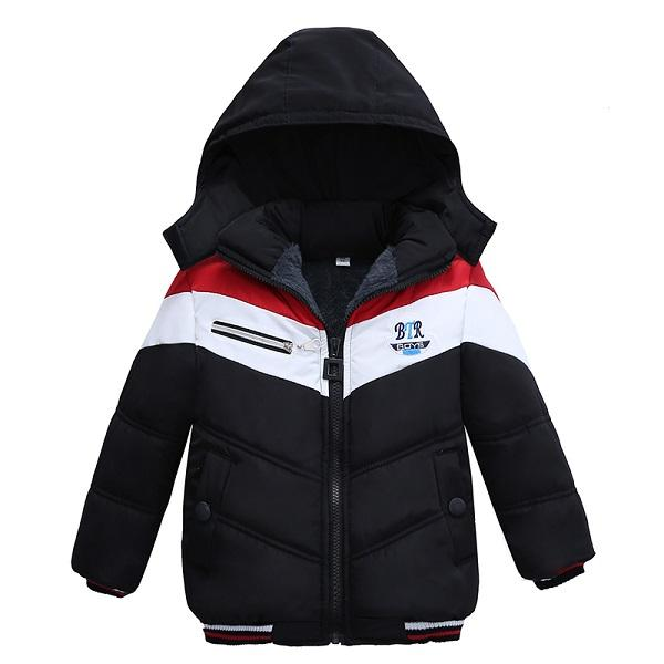 Autumn Winter Baby Boys Jacket Jacket For Boys Children Jacket Kids Hooded Warm Outerwear Coat For Boy Clothes 2 3 4 5 Year