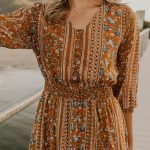 *Available 7/18 on roolee.com/* Floral Print Maxi Dress - Boho Dress for Women -...