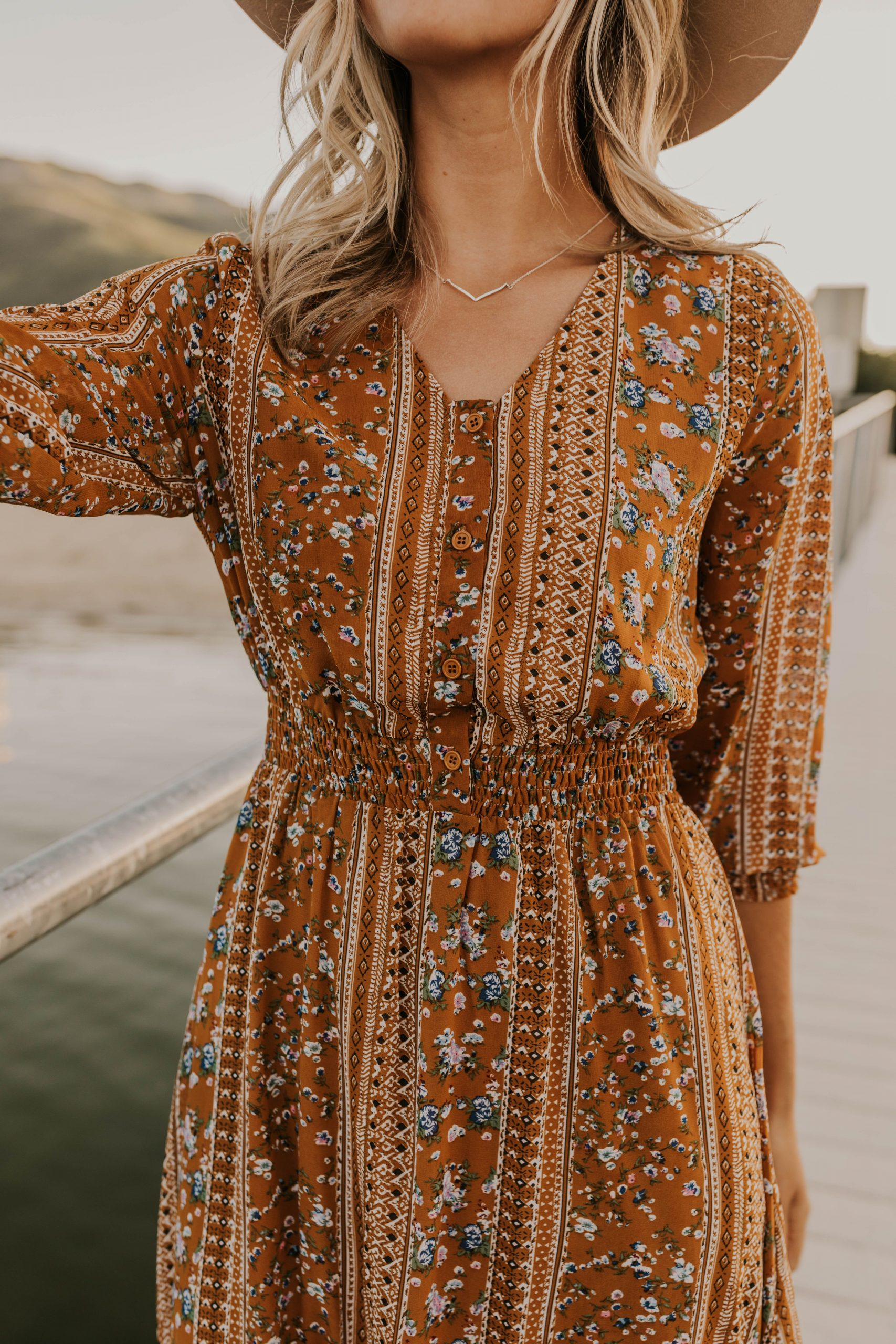 *Available 7/18 on roolee.com/* Floral Print Maxi Dress – Boho Dress for Women -…