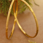 Avismaya Gold Plated Daily Use Thin Bangles – Jumkey Fashion Jewellery
