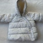 BABY GAP girls 12-18M leopard print winter coat This a baby girl size 12-18 mont...