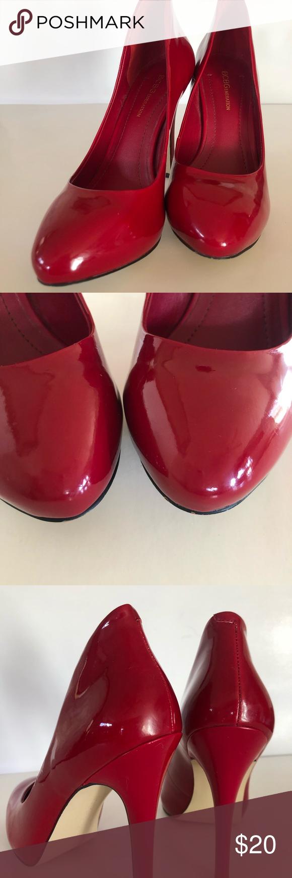 "BCBGeneration Platform Heels BCBGeneration platform heels 4.5"" heel Candy Appl…"