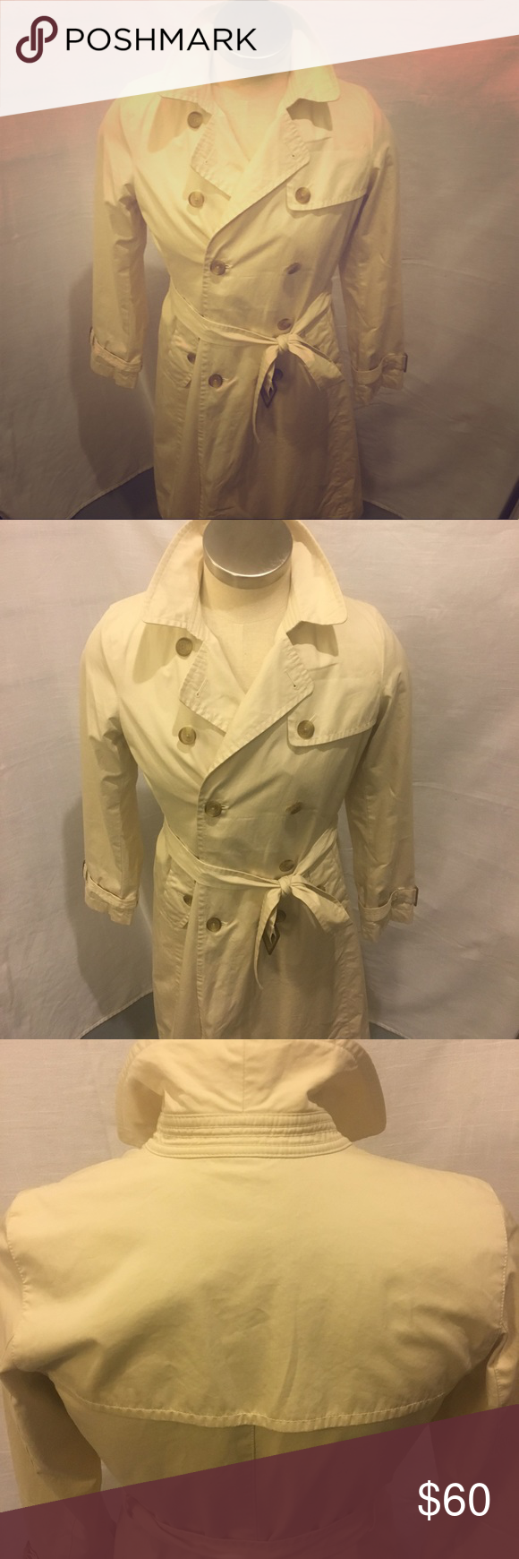 Banana Republic Classic Trench Coat Just in time for spring, the Banana Republic…