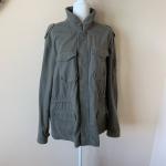Banana Republic men's military style jacket #1544 Military inspired 4 pocket j...