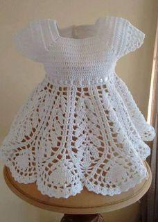 Beautiful lotus baby dress