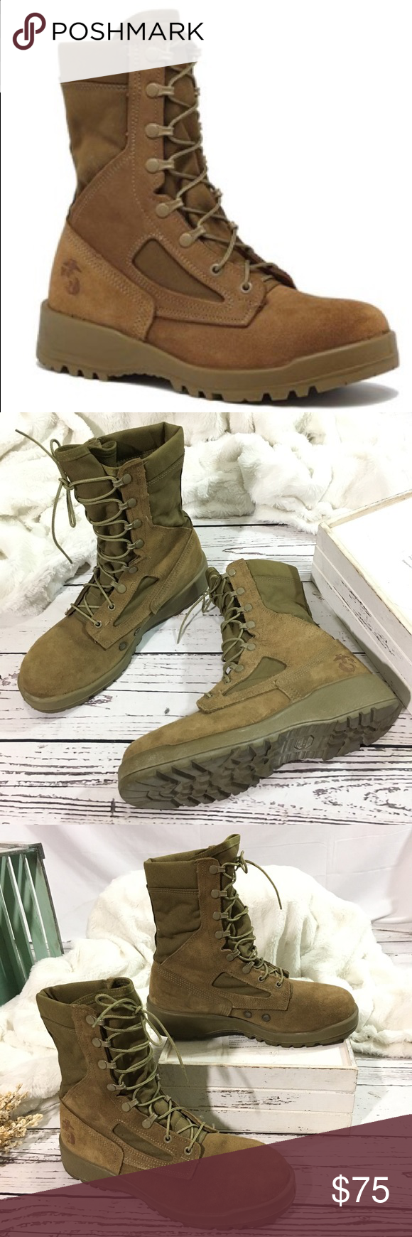 Belleville military 550ST USMC Steel Toe Boots Pre loved and still very new Bell…