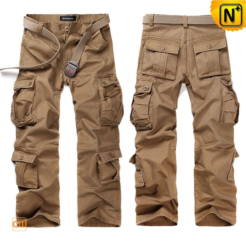 Belted Cargo Pants Trousers for Men CW140285  Cool belted cargo pants trousers f…