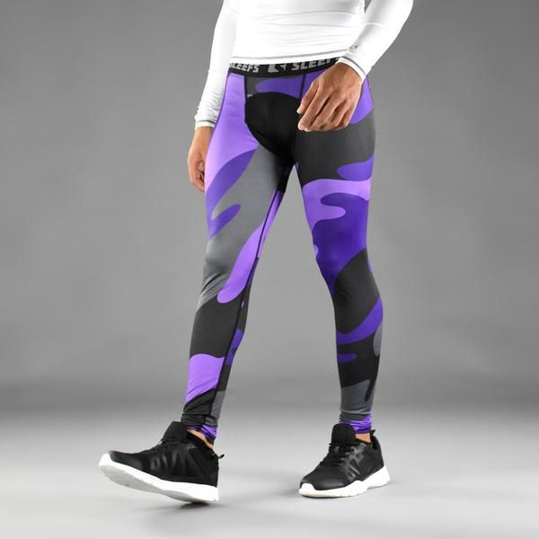 Benefits of our Men's Leggings or Compression Tights Made of tough non-woven ant…