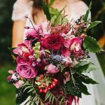 Berries in a bouquet? Yes, please!