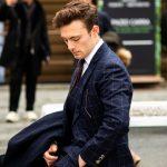Bespoke Blue Suit, Pitti Uomo 95