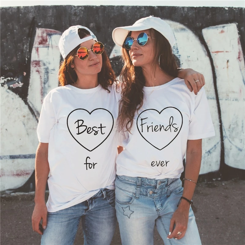 Best Friends For Life Matching Tees – Best / S